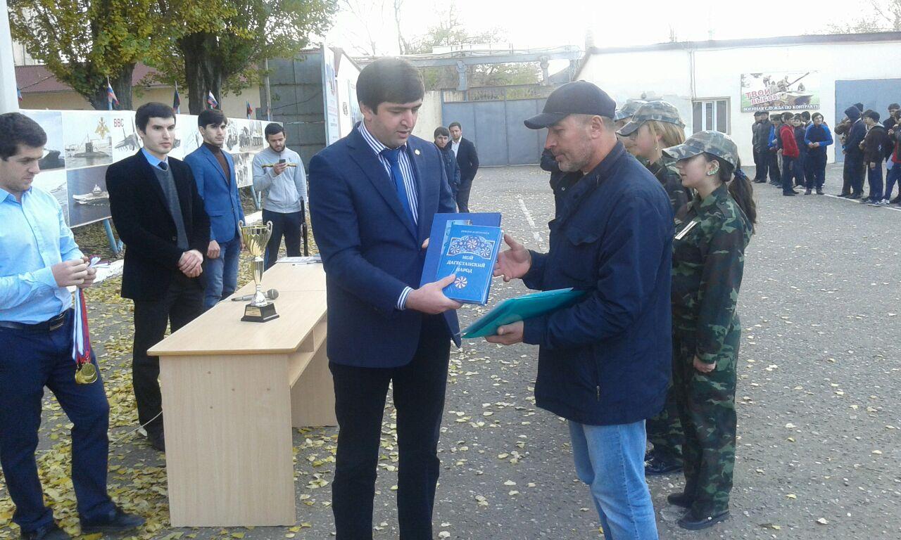 Команда Казбековского района одолела вфинале Республиканской военно-спортивной игры «Ополченец»